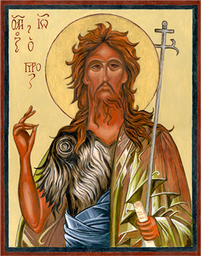 Icon — John the Baptist