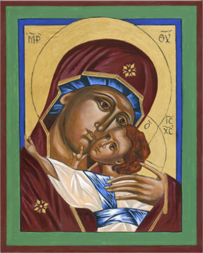 Icon — Korsun Mother of God