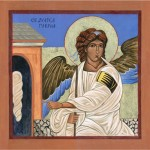 Icon — White Angel of the Resurrection