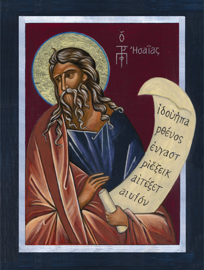The Prophet Isaiah Icon by Lynne Beard