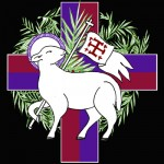 Agnus Dei-Palm Sunday in color — Learn more about the symbolism.