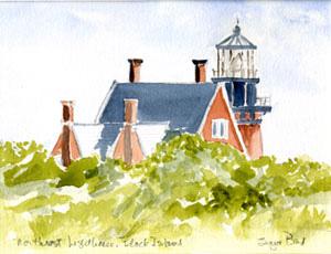 Northeast Lighthouse — Block Island