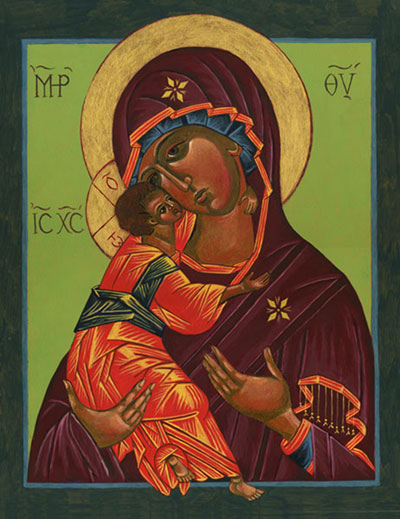 Icon – Virgin of Vladimir